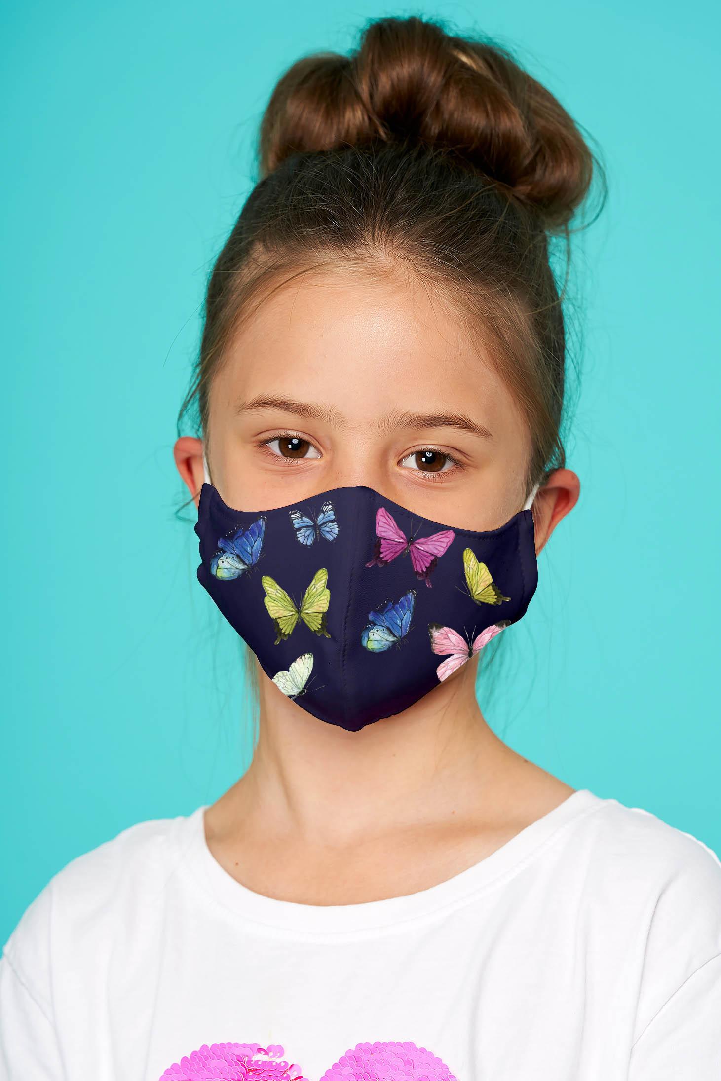 Masca textila pentru copii StarShinerS neagra