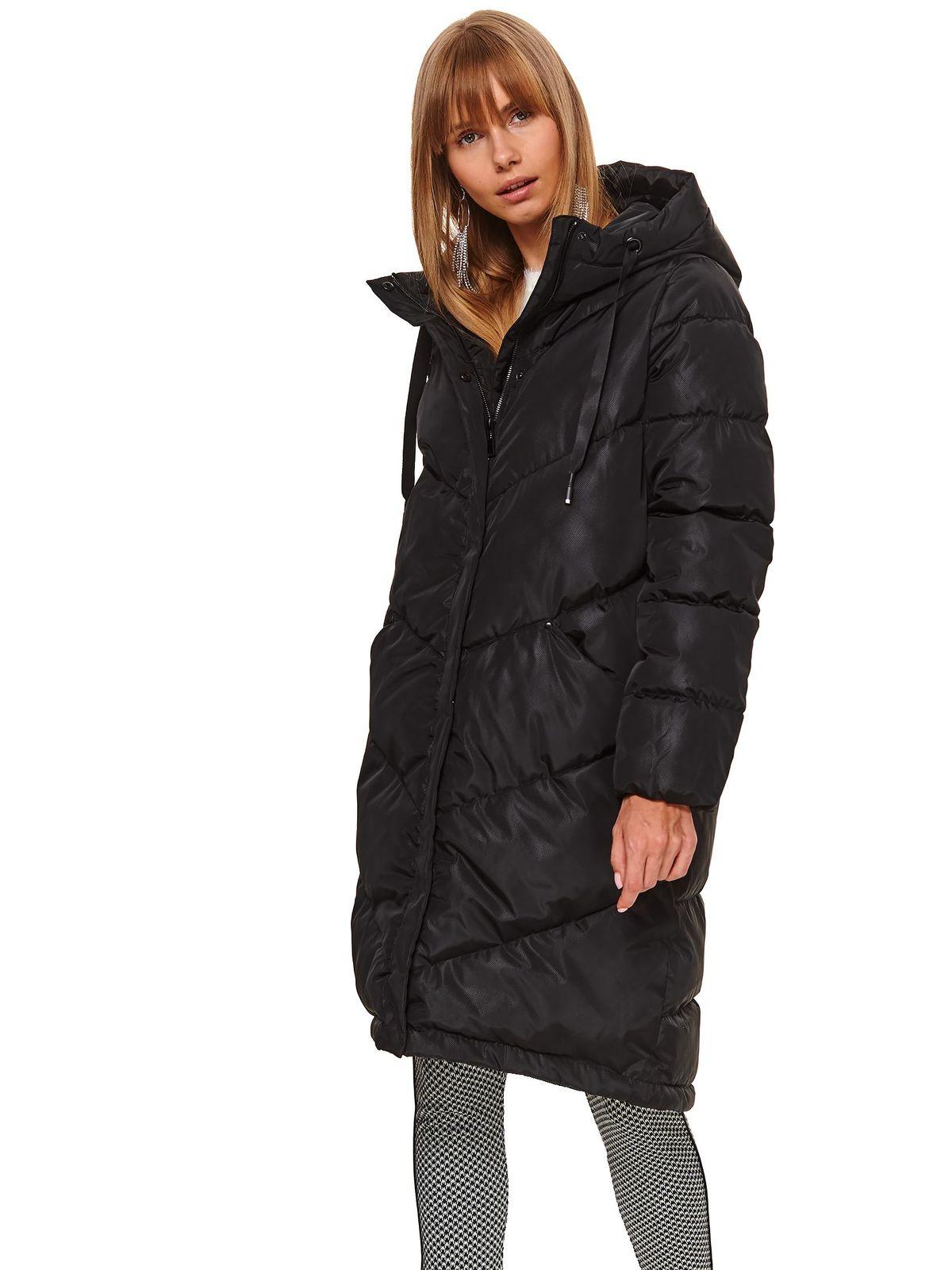 Black jacket long from slicker casual