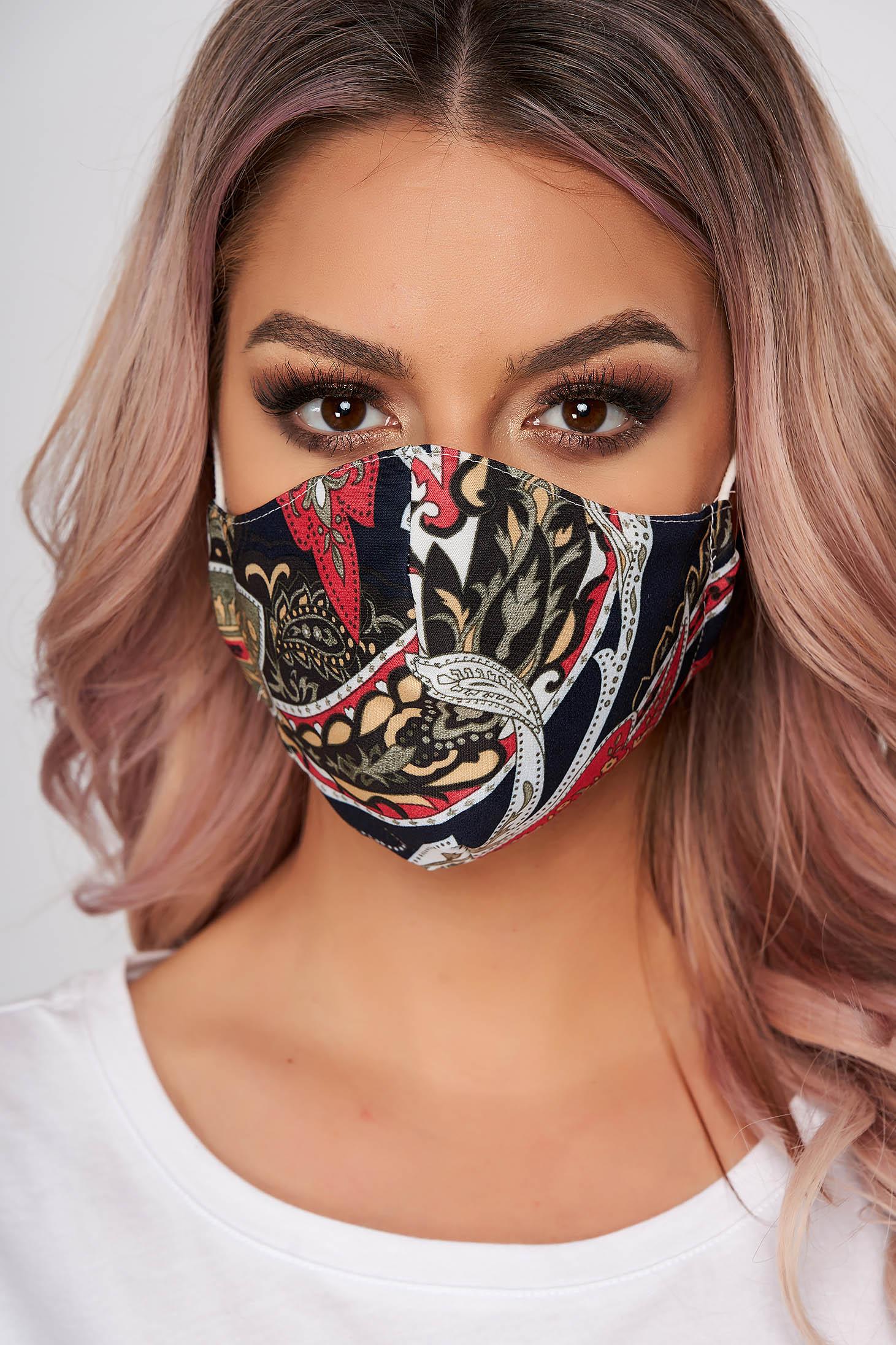 Masca textila pentru femei StarShinerS khaki