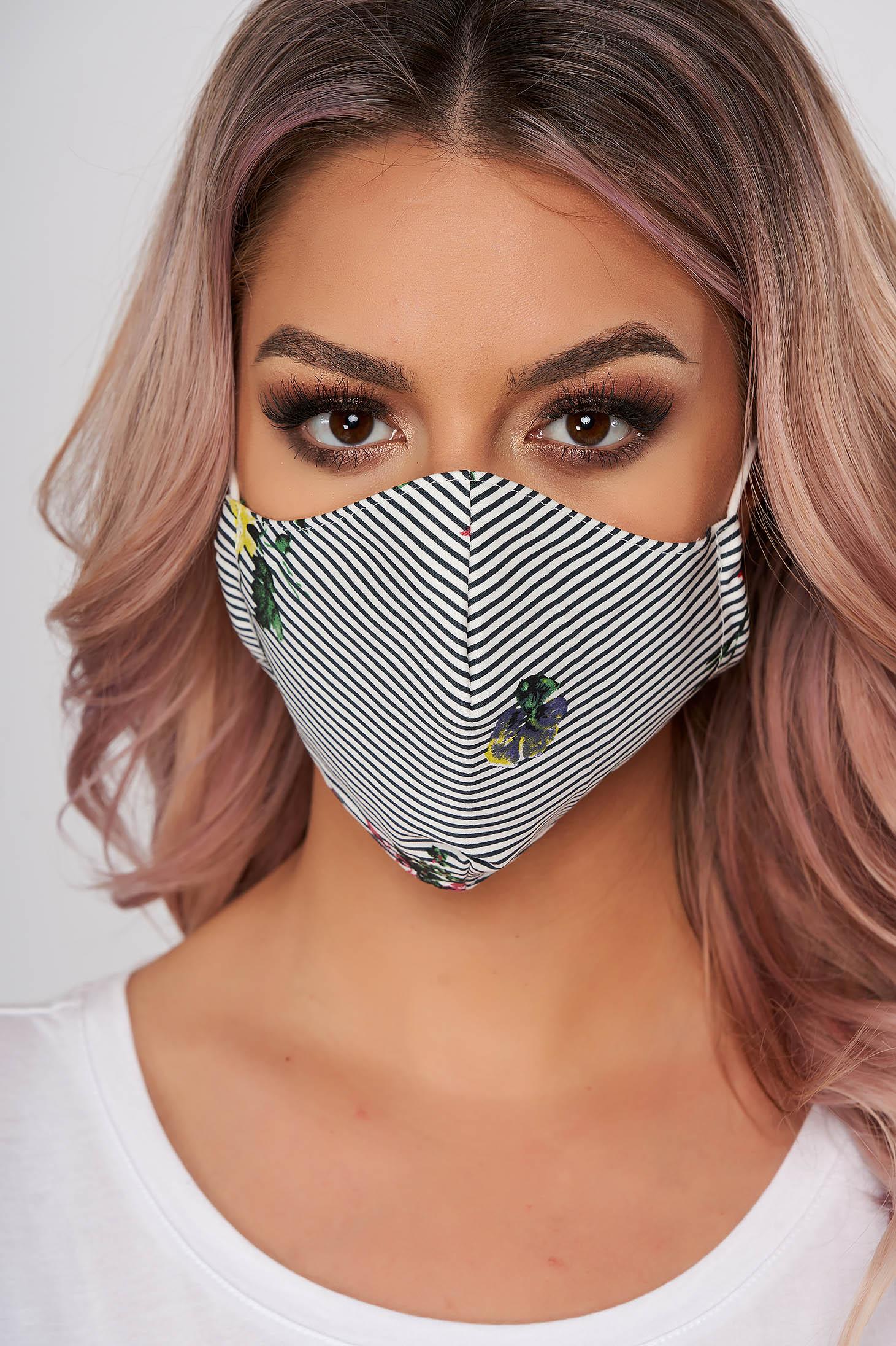 Masca textila pentru femei StarShinerS galbena