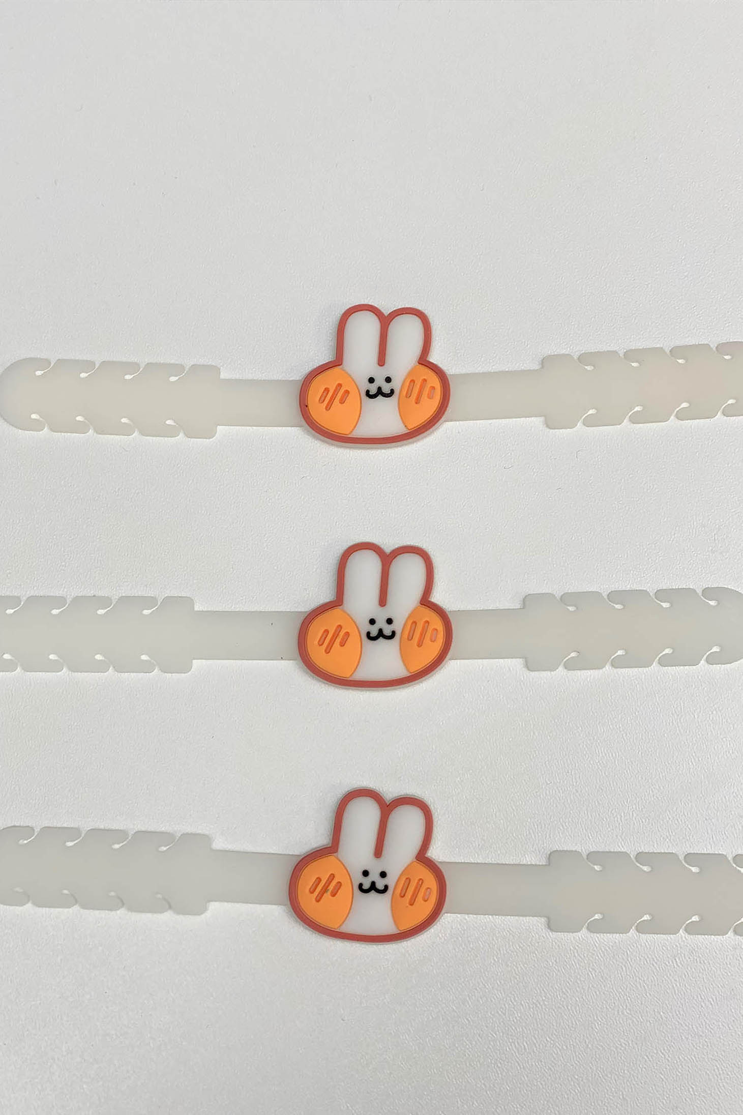 Set 3 buc Sistem Ajustare Masti De Protectie pentru copii StarShinerS Alb