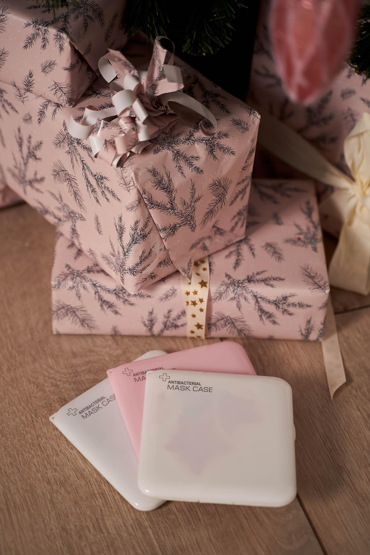 Cutie Pentru Masti De Protectie StarShinerS Roz