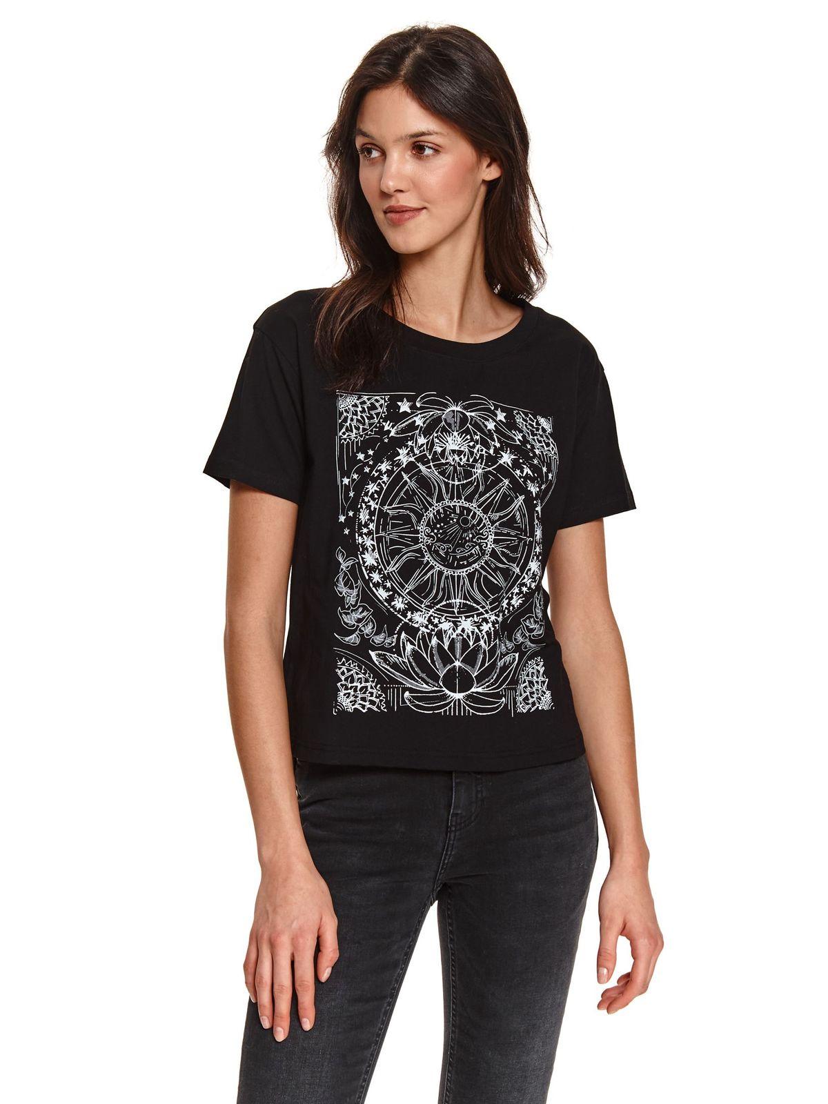 Top Secret S051876 Black T-Shirt