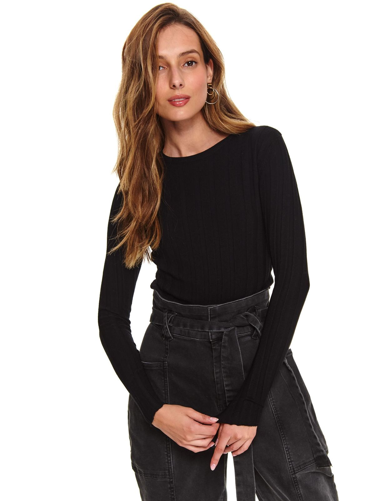 Top Secret S052206 Black Sweater