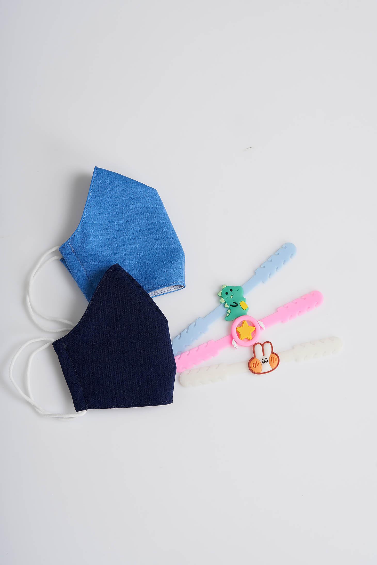 Set doua masti textile pentru copii StarShinerS si trei sisteme de ajustare