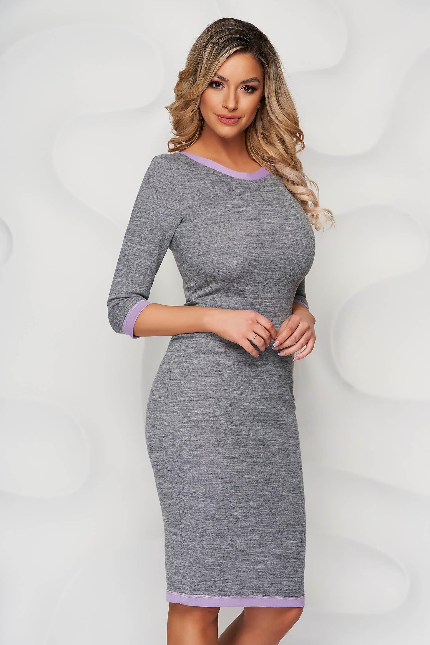 Grey StarShinerS dress