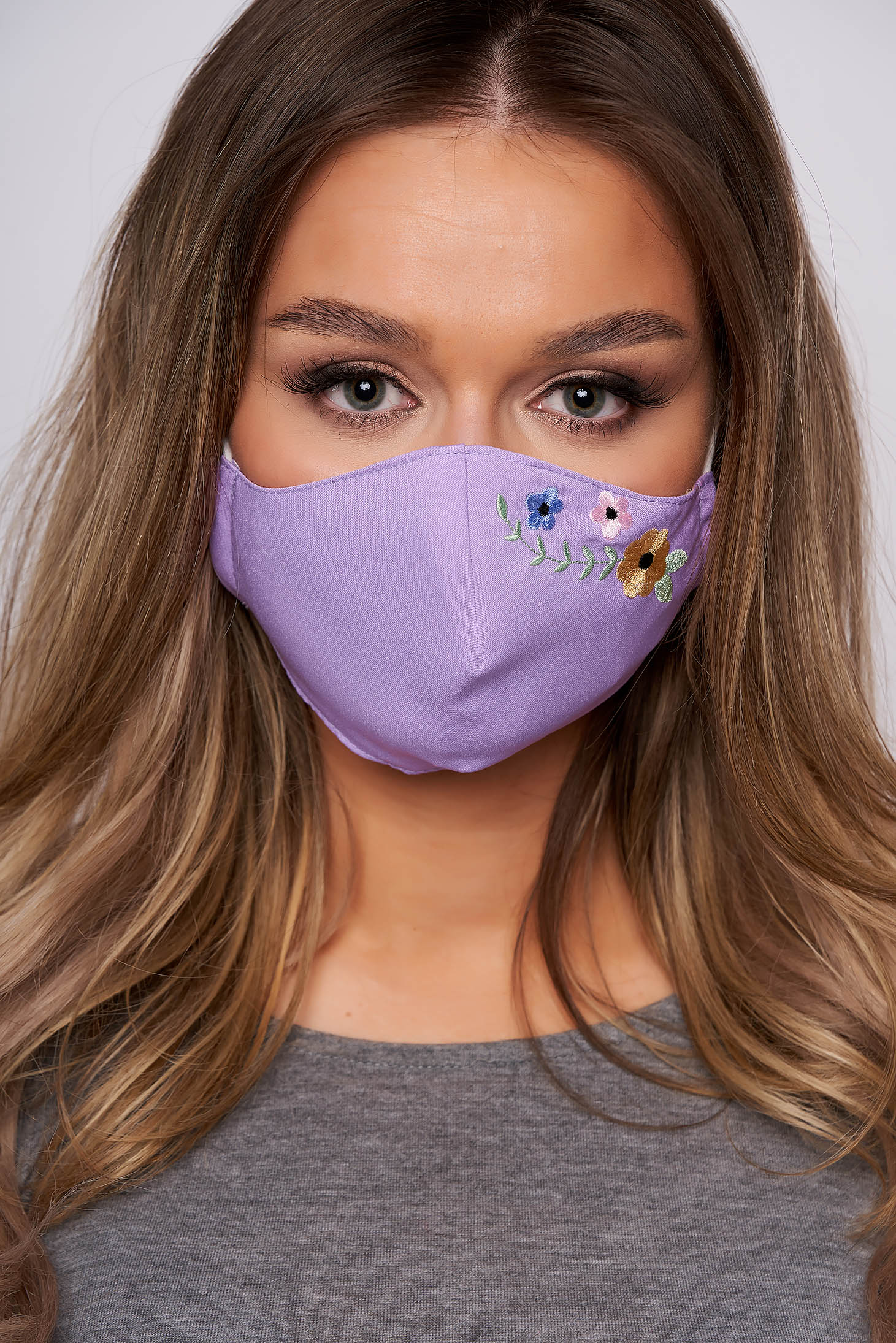 StarShinerS purple face masks
