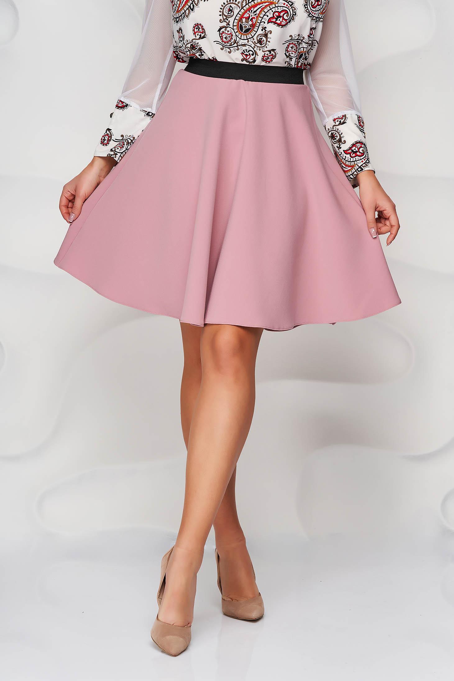 StarShinerS lightpink skirt cloche with elastic waist