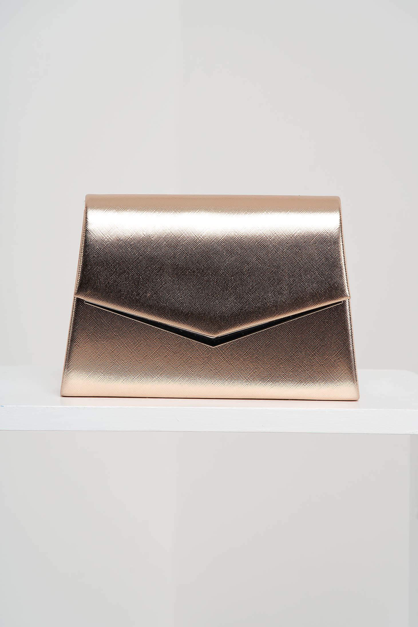 Brown bag occasional from ecological leather
