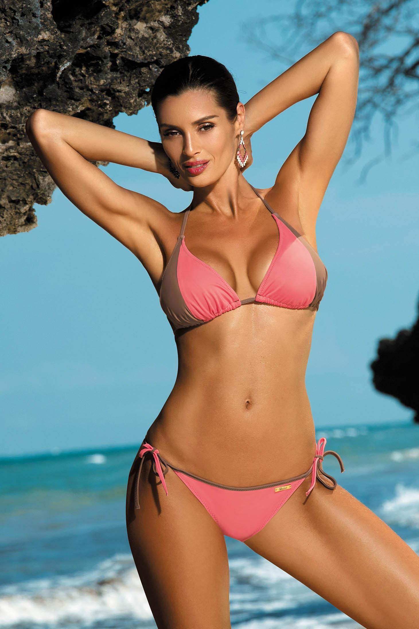 Lightpink swimsuit 2 pieces normal bikinis